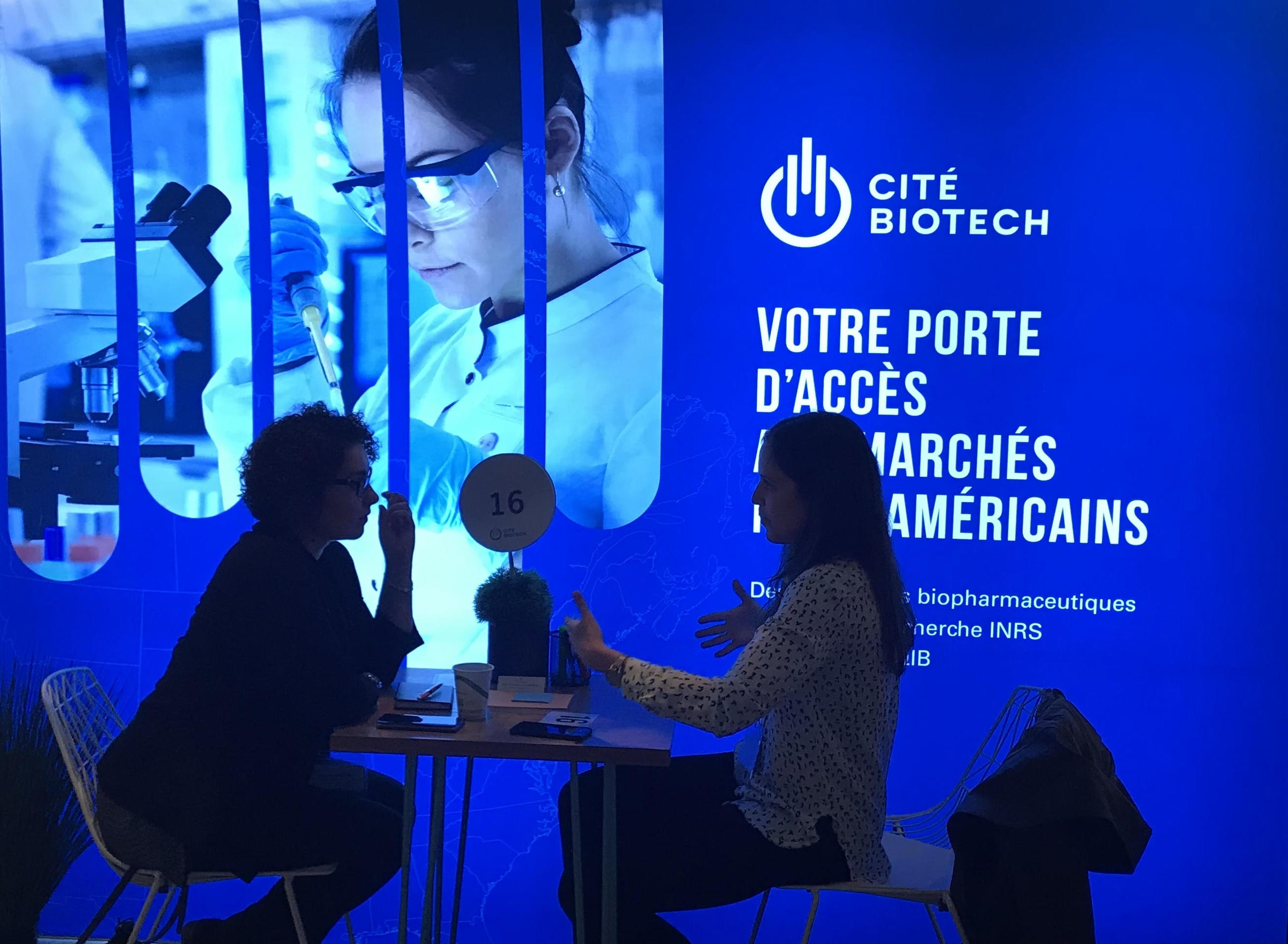 The Biotech City was at Effervescence