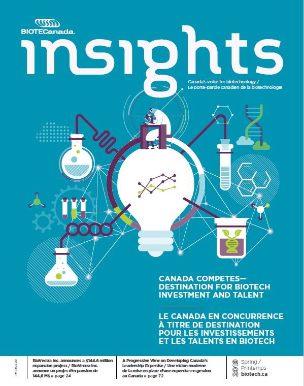 BIOTECanada Insights Magazine published an article on the Biotech City